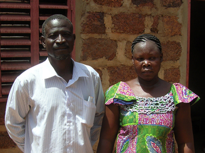 Georges and Esther Sawadogo